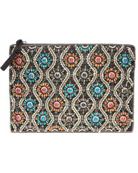 South Moon Under - Noemi Embellished Pouch - Lyst