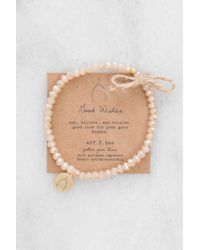 South Moon Under - Crystal Bliss Bracelet Champagne - Lyst