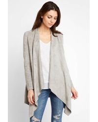 d.RA - Suede Pe Duster With Pockets - Lyst