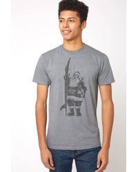 South Moon Under - Surfing Santa Graphic Tee - Lyst