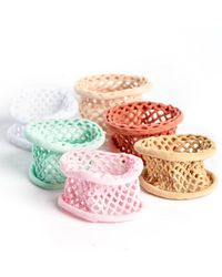 South Moon Under - Fishnet Hair Tie Spring Colors - Lyst