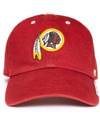 47 Brand Washington Redskins Ice Clean Up Hat Red 1