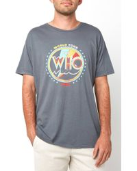 South Moon Under - The Who World Tour Tee - Lyst