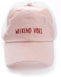 South Moon Under - Weekend Vibes Trucker Hat - Lyst