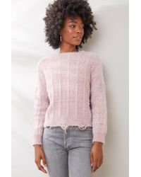 Raga Paige Pullover Sweater Pink