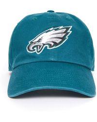 47 Brand Philadelphia Eagles Clean Up Hat Green 1