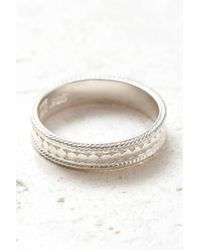 South Moon Under - Silver Authenticity Ring - Lyst