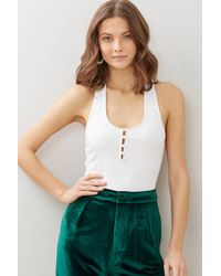 Free People Hang Out Cami White
