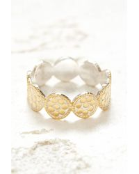 South Moon Under - Mini Disc Band Ring - Lyst