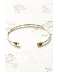 South Moon Under - Coil Cuff Bracelet - Lyst