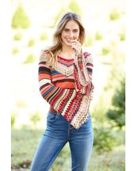 South Moon Under - Heart And Soul Sweater - Lyst