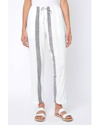 South Moon Under - Vertical Striped Tapered Pull On Pant - Lyst
