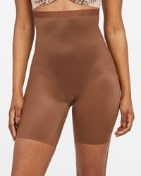 Spanx Thinstincts® 2.0 High-waisted Mid-thigh Short - Brown