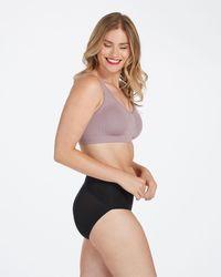 Spanx Breast Of Both Worlds Reversible Comfort Bra - Black