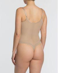 Spanx Shapewear Noveau Thong Bodysuit - Multicolour
