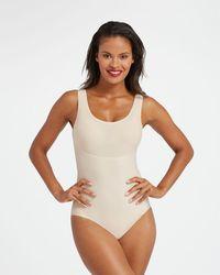 Spanx Thinstincts® Panty Bodysuit - Natural
