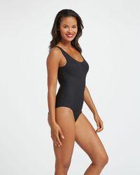 Spanx Thinstincts Panty Bodysuit - Black
