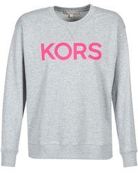 MICHAEL Michael Kors T-shirt Met Logo - Grijs
