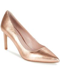 Dune - Abbigail Women's Court Shoes In Gold - Lyst