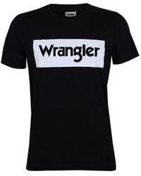 Wrangler - W742FK100 T-shirt - Lyst