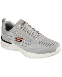 Skechers Lage Sneakers Zapatillas Running Hombre 232291 - Grijs