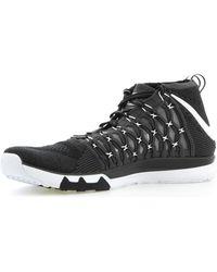 Nike Train Ultrafast Flyknit Chaussures - Noir