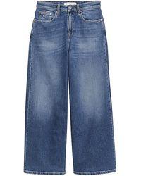 Tommy Hilfiger Pantalón de campana - Jeans DM0DM10293-1A5 - Azul