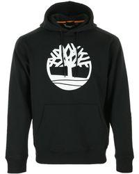 Timberland Core Tree Logo Pull Over Hoodie - Negro
