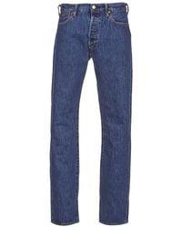 Levi's Straight Jeans Levis 501® ®original Fit - Blauw