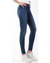 Wrangler Jegging W27JGM85F Jeans skinny - Bleu