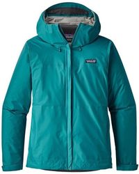 Patagonia - Torrentshell Womens Women's Windbreakers In Multicolour - Lyst