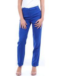 FEDERICA TOSI FTE20PA0920AKUMAL Pantalons de costume - Bleu