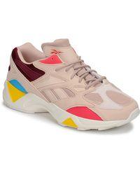 Reebok Lage Sneakers Aztrek 96 - Naturel