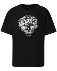 Ed Hardy Tiger-glow t-shirt black T-shirt - Noir