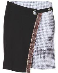 Desigual - Pourtu Women's Skirt In Black - Lyst