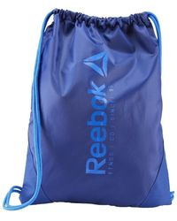 Reebok Sport Roy Blue Found Gymsack Backpack