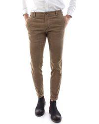 AT.P.CO Pantalons de costume SASA45 TC301/TB - Multicolore