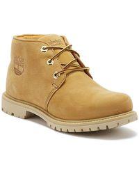 Timberland Nellie Paninara Womens Wheat Yellow Chukka Boots