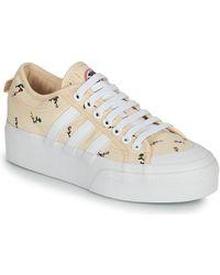 adidas - Lage Sneakers Nizza Platform W - Lyst