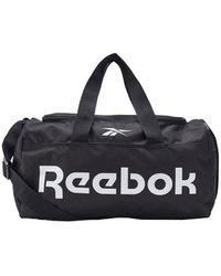 Reebok Act Core Ll S Grip Travel Bag - Black