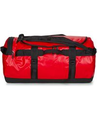 The North Face - Base Camp Duffel M Men's Travel Bag In Red - Lyst