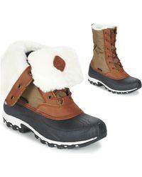 Kamik - Harper Women's Snow Boots In Beige - Lyst