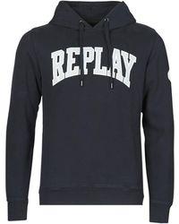 Replay Sweater M3233 - Zwart