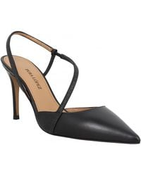 Pura López AQ115 cuir glitter Femme Noir Chaussures escarpins