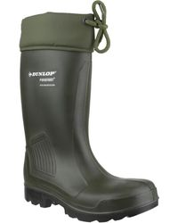 Dunlop Thermoflex Safety C462943 Wellington Boots - Green