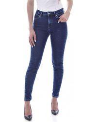 Guess W1RA95 D4663 Jeans - Bleu