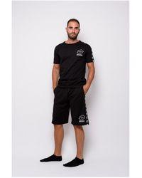 Lotto Leggenda T-shirt Half Sleeve Jersey (ltu016-black) T-shirt - Noir