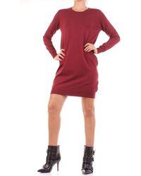 Relish Robe courte SARFIT - Rouge