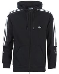 adidas Sweater Outline Fzh - Zwart
