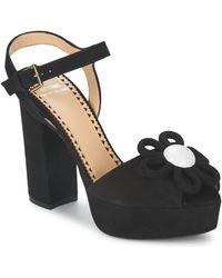 Boutique Moschino Sandalias CA1617 - Negro